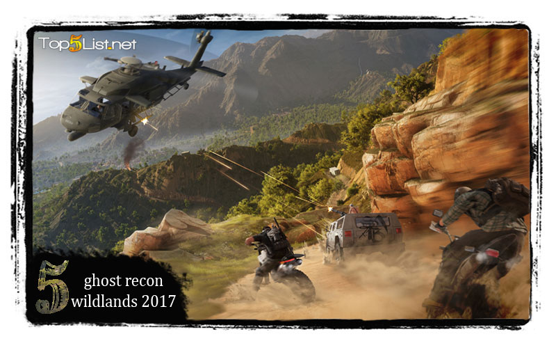 ghost recon Wildlands 2017