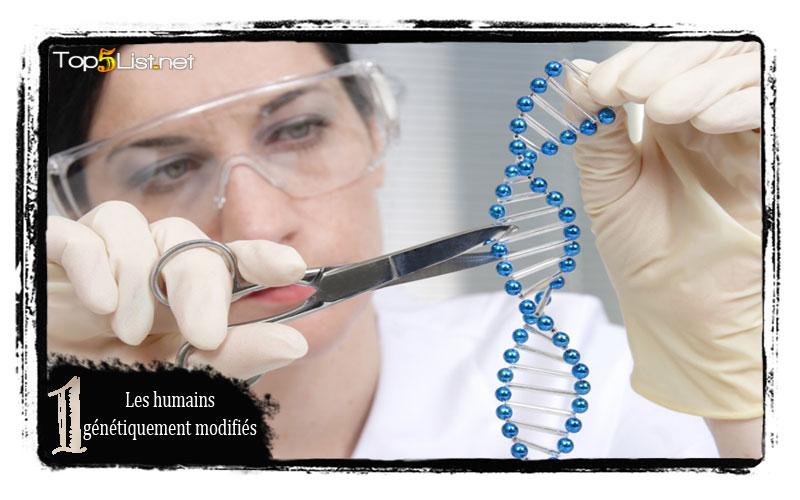 Les humains génétiquement modifiés