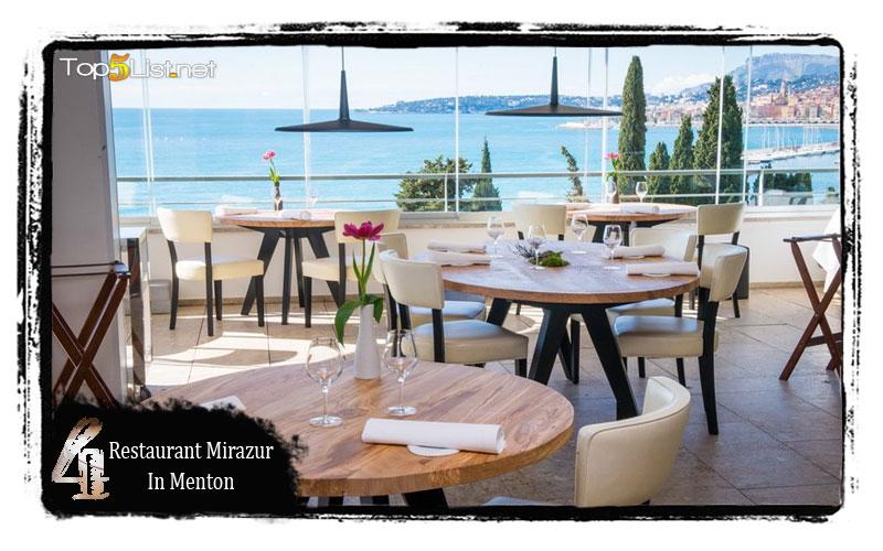 Restaurant Mirazur in Menton
