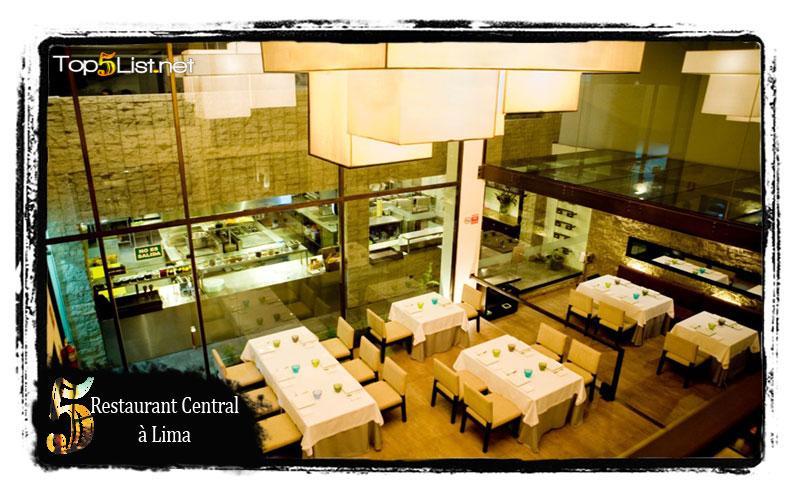 Restaurant central à Lima