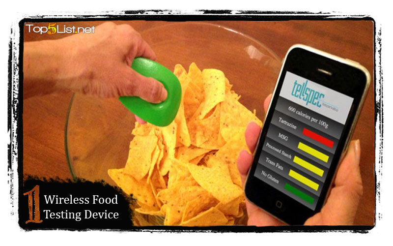 Wireless Food Testing Device
