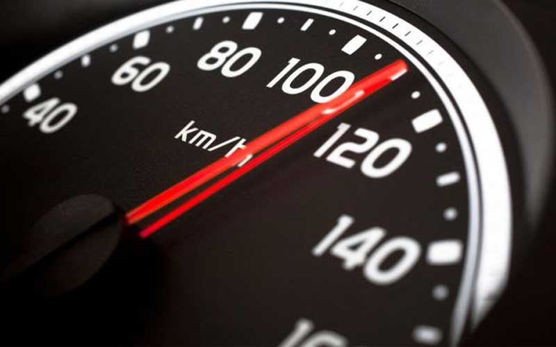 Maintain a moderate speed